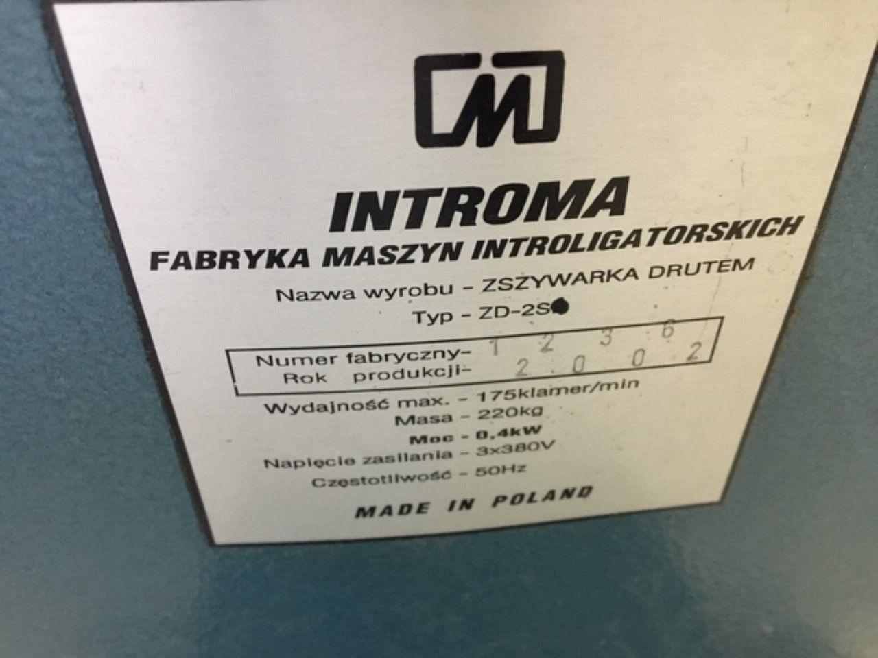 INTROMA ZD 2D, Year : 2002, ref.69357   www.coci-sa.com/en   69357n.jpg
