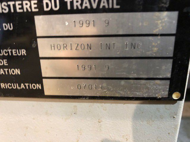 JOGGER HORIZON, Year : 1991, ref.69779 | www.coci-sa.com/en | 69779n.jpg
