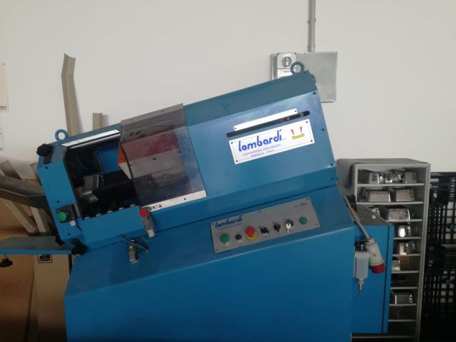 LOMBARDI Automatic label punching, Year : 2001, ref.69945   www.coci-sa.com/en   69945n.jpg