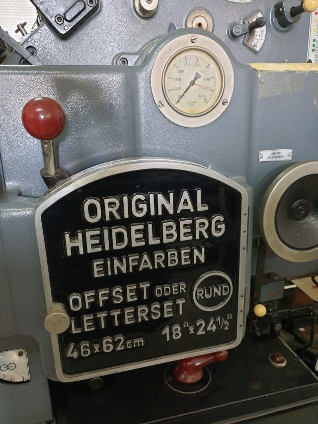 HEIDELBERG KORD 62, Year : 1964, ref.69963 | www.coci-sa.com/en | 69963n_4.jpg