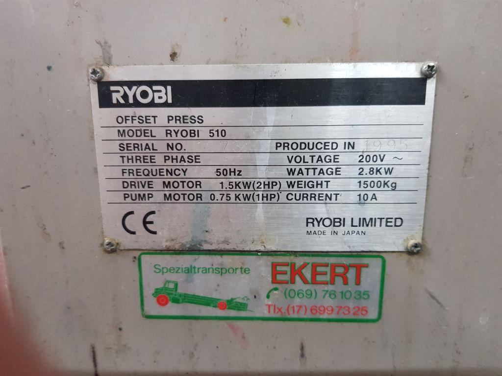 RYOBI 510, Year : 1995, ref.70081   www.coci-sa.com/en   70081n_5.jpg