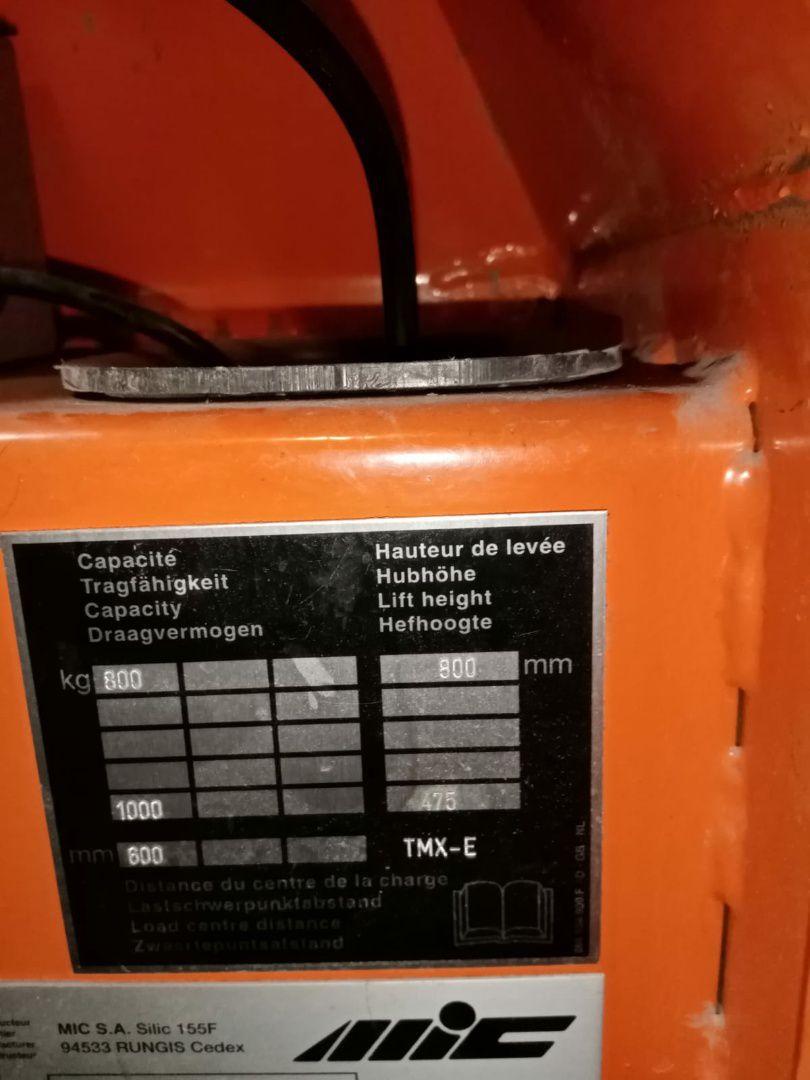 HANDLING-MATERIAL Hand Pallet HIGHLIFTING, Year : 1999, ref.70603 | www.coci-sa.com/en | 70603n_1.jpg