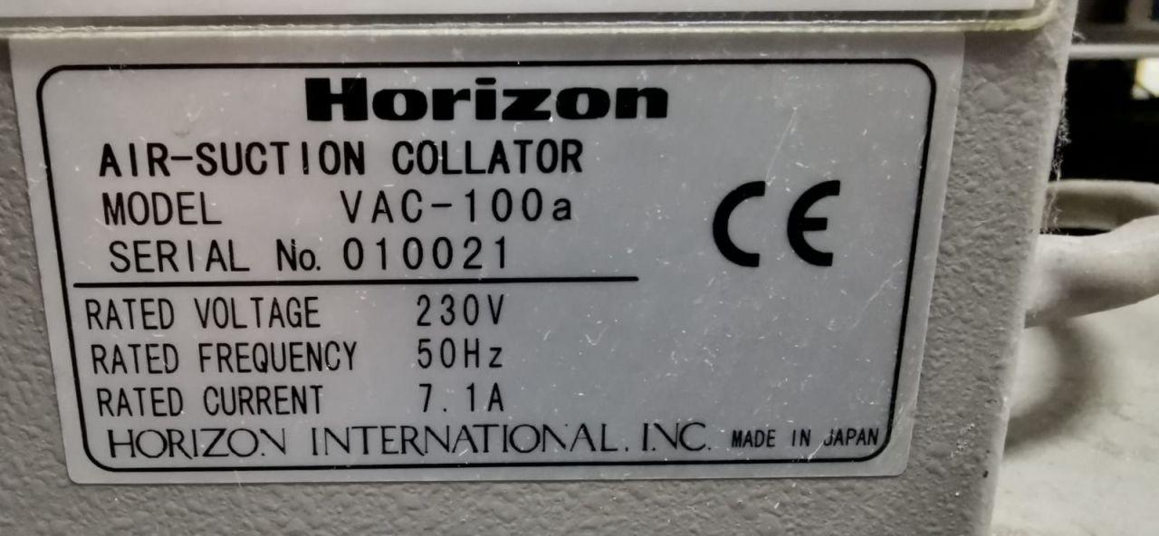 HORIZON VAC 100, Year : 2000, ref.70824 | www.coci-sa.com/en | 70824n_2.jpg
