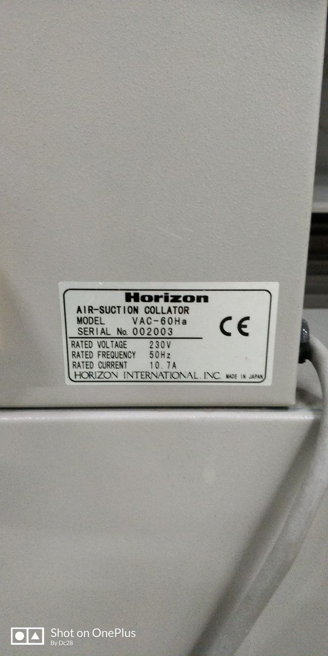 HORIZON VAC 60, Year : 2005, ref.71464 | www.coci-sa.com/en | 71464n_2.jpg