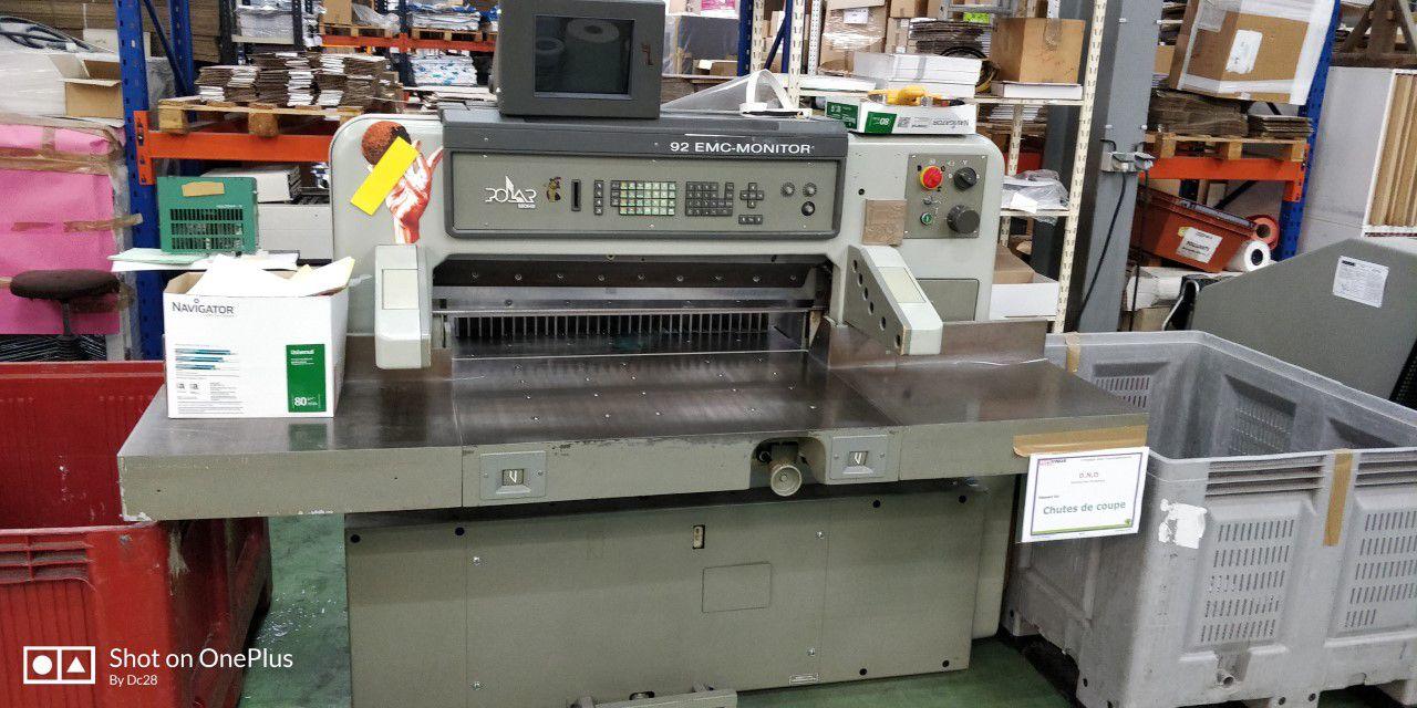 POLAR 92 EMC MONITOR, Year : 1991, ref.71465   www.coci-sa.com/en   71465n.jpg
