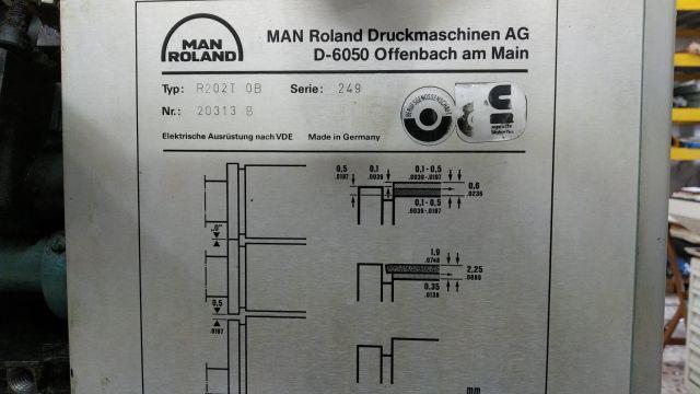 ROLAND 202 TOB, Year : 1990, ref.71558 | www.coci-sa.com/en | 71558n.jpg
