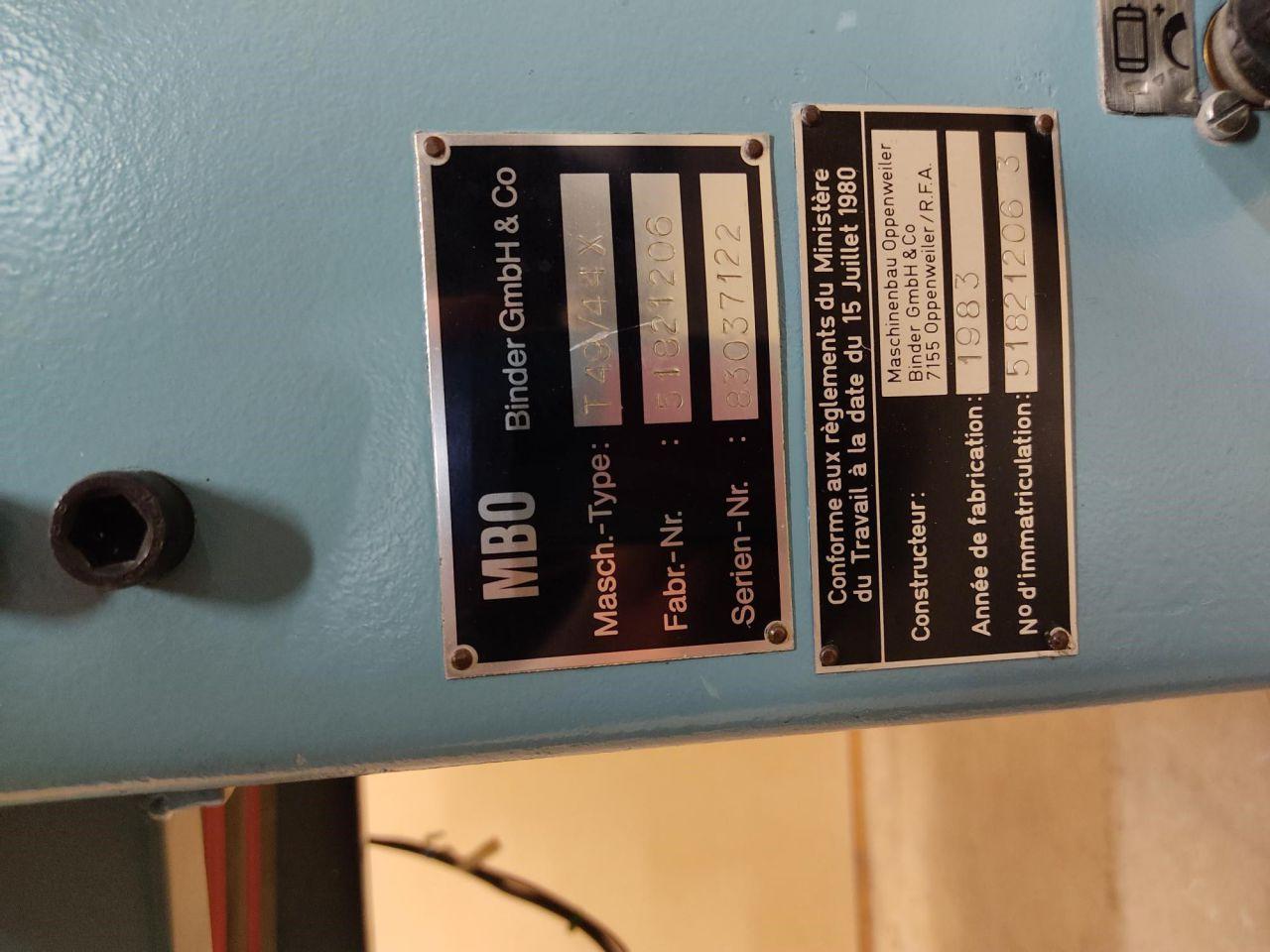MBO T 49, Rocznik : 1983, ref.71647 | www.coci-sa.com/pl | 71647n.jpg
