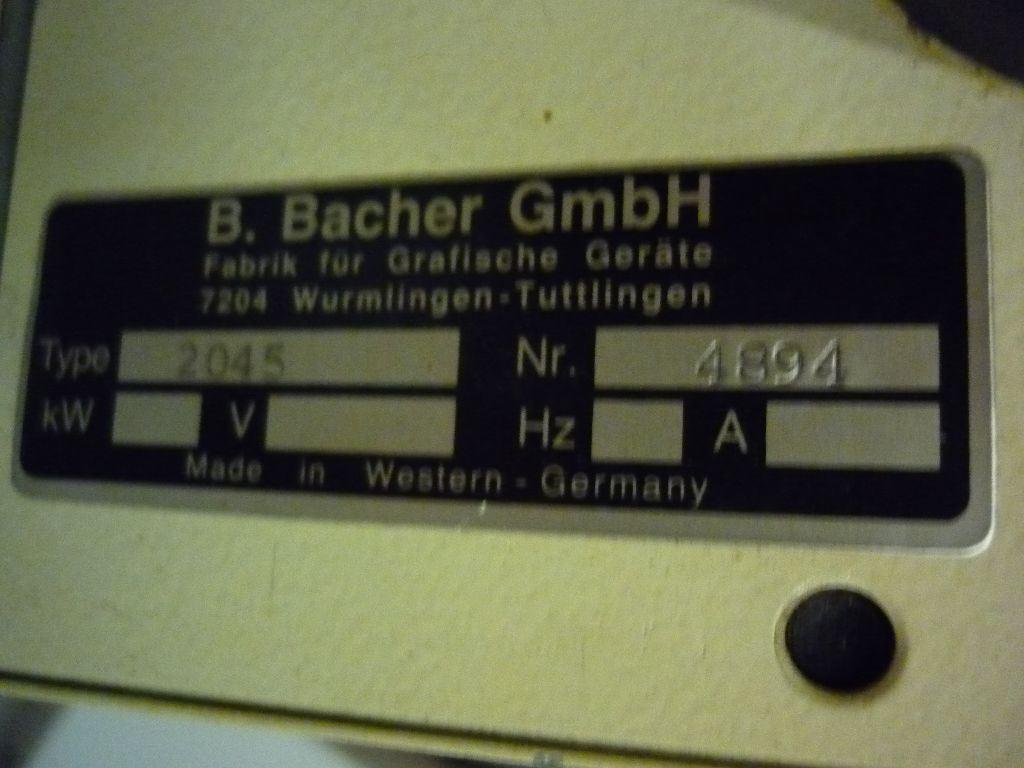 BACHER 2045, Year : 0, ref.40866 | www.coci-sa.com/en | N13751.jpg